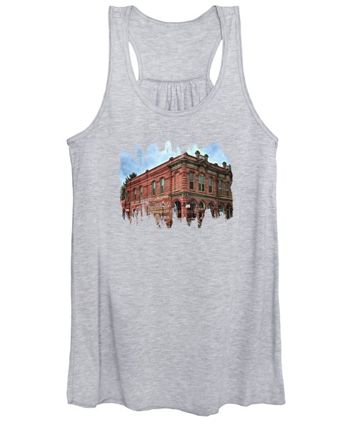 Boomtown Saloon Jacksonville Oregon Usa Women's Tank Top