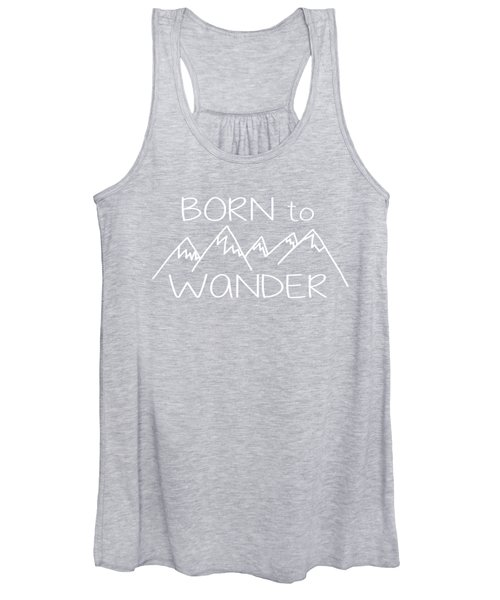 Born To Wander Women's Tank Top