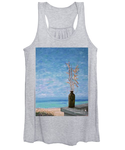 Bottle And Sea Oats Women's Tank Top