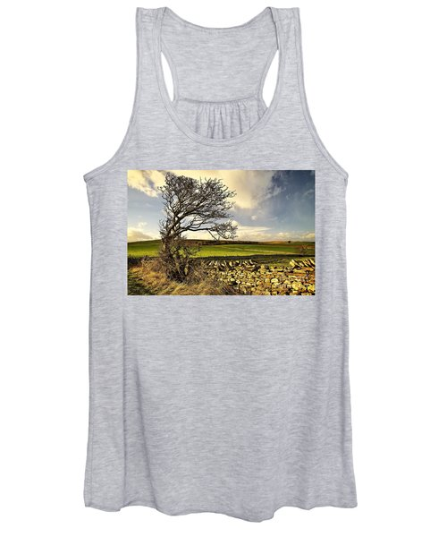 Bowing To The Wind Women's Tank Top