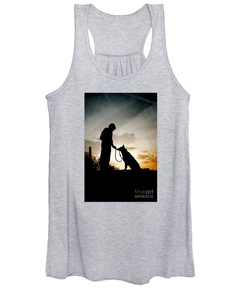 Boy And His Dog Women's Tank Top