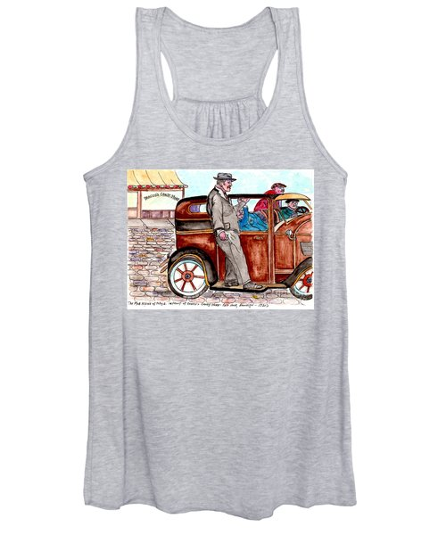 Bracco Candy Store - Window To Life As It Happened Women's Tank Top
