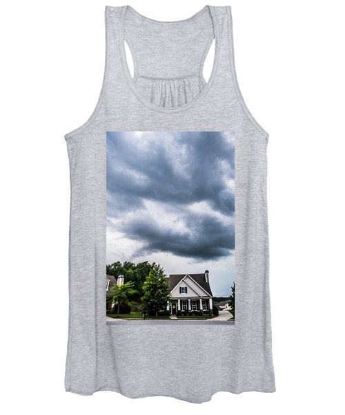 Brewing Clouds Women's Tank Top