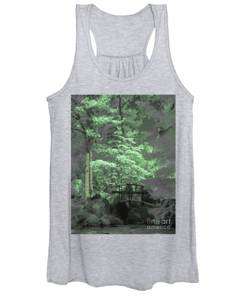 Bridge At Clark Gardens Women's Tank Top