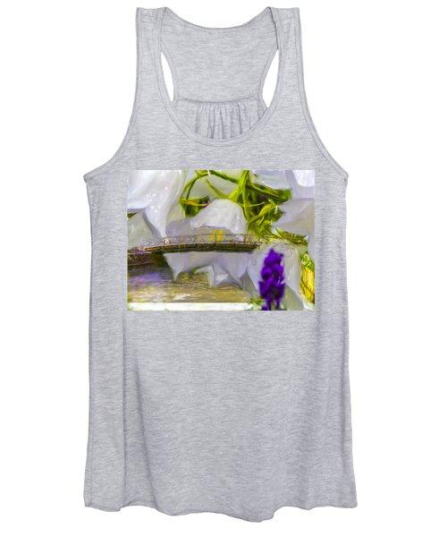 Bridge Flower.  Women's Tank Top