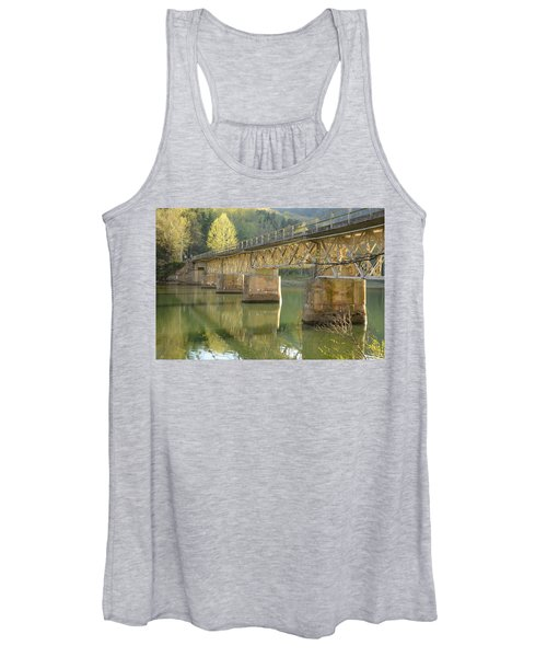 Bridge Over Calm Water Women's Tank Top