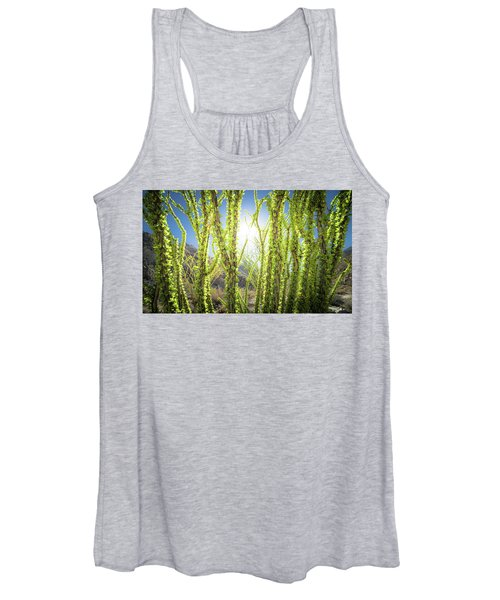 Bright Light In The Desert Women's Tank Top