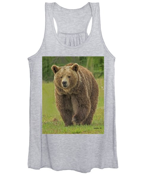 Brown Bear 1 Women's Tank Top