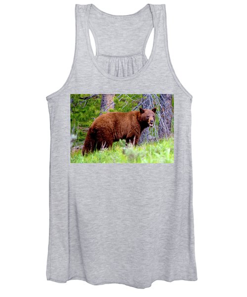 Brown Bear Women's Tank Top