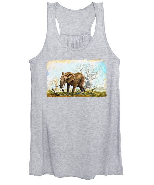 Browsing In The Bushes Women's Tank Top