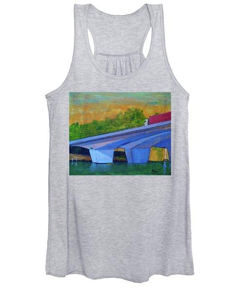 Brunswick River Bridge Women's Tank Top