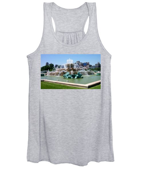 Buckingham Fountain Women's Tank Top