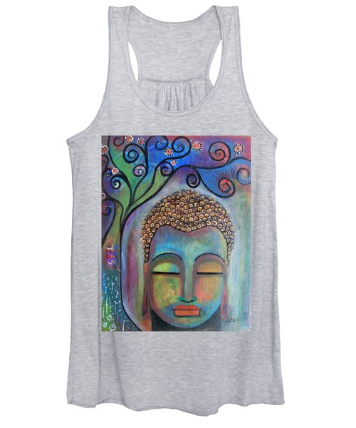 Buddha With Tree Of Life Women's Tank Top