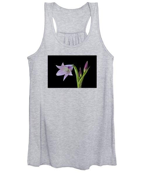 Budding Lily Women's Tank Top