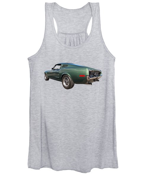 Bullitt - 1968 Mustang Fastback Women's Tank Top