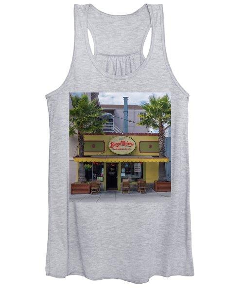 Burgermeister Restaurant, San Francisco Women's Tank Top