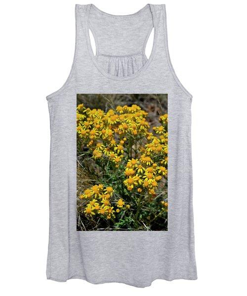 Burst Of Yellow Women's Tank Top
