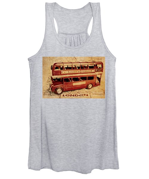 Buses Of Vintage England Women's Tank Top