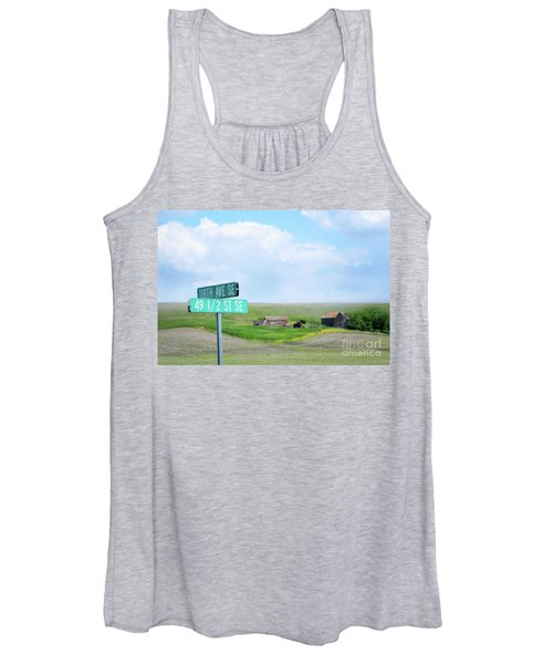 Busy Intersection Women's Tank Top