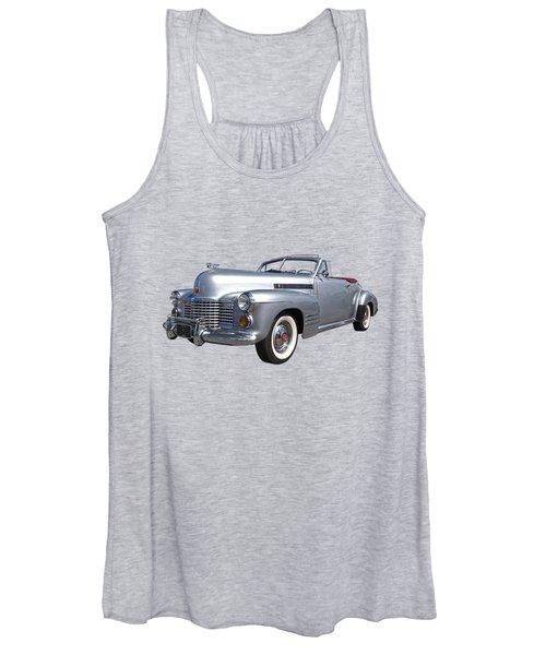 Bygone Era - 1941 Cadillac Convertible Women's Tank Top