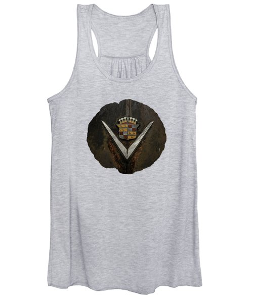 Caddy Emblem Women's Tank Top