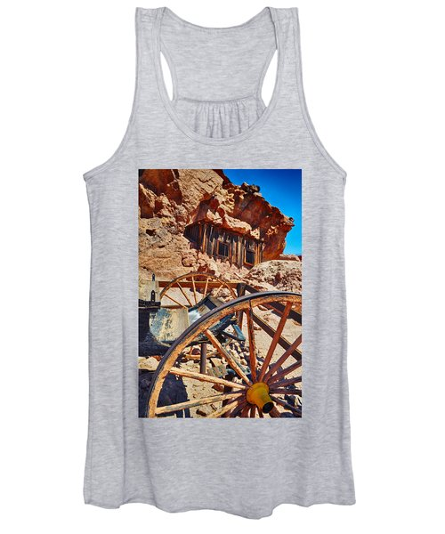 Calico Ghost Town Mine Women's Tank Top