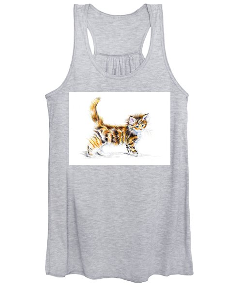 Calico Kitten Women's Tank Top
