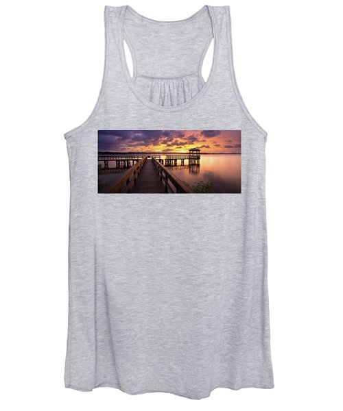 Calm Before The Storm Women's Tank Top