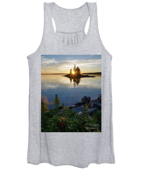 Calm Water At Sunset, Harpswell, Maine -99056-99058 Women's Tank Top