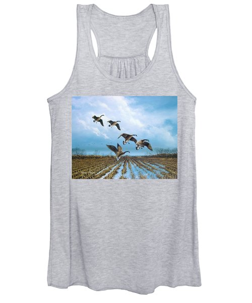Canadian Cold Front Women's Tank Top