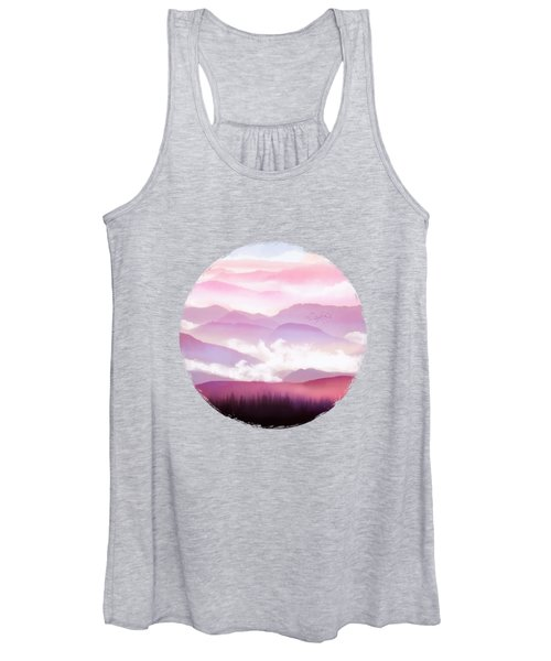Candy Floss Mist Women's Tank Top