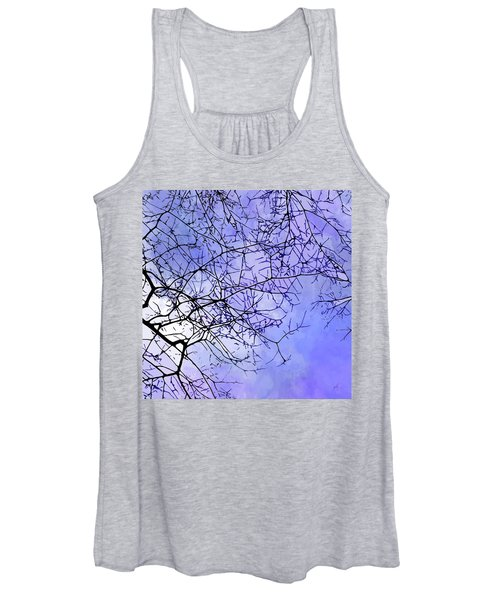 Women's Tank Top featuring the digital art Canopy by Gina Harrison