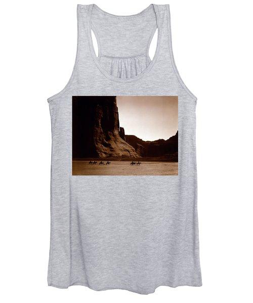 Canyon De Chelly 2c Navajo Women's Tank Top