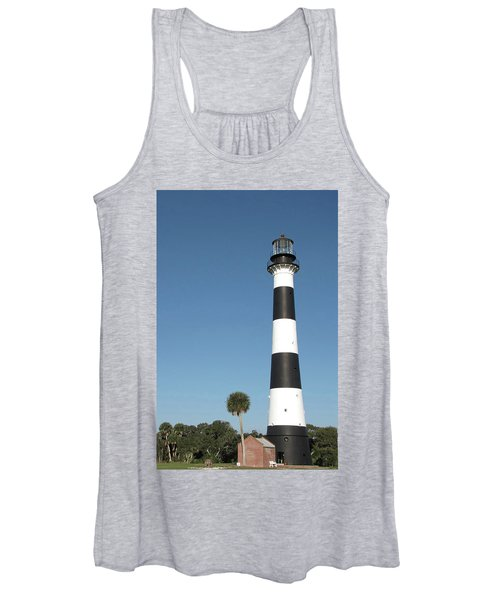 Cape Canaveral Lighthouse  Women's Tank Top