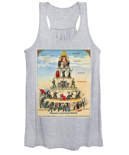 Capitalist Pyramid, 1911 - To License For Professional Use Visit Granger.com Women's Tank Top