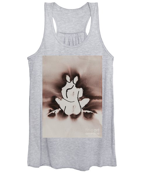 Captured Divine Love Series No. 1014 Women's Tank Top