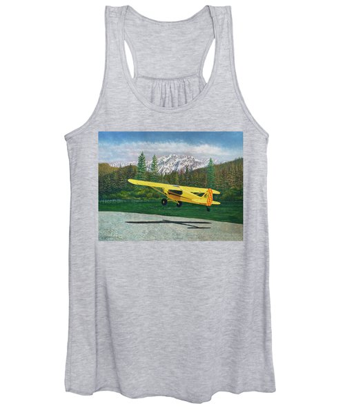 Carbon Cub Riverbank Takeoff Women's Tank Top