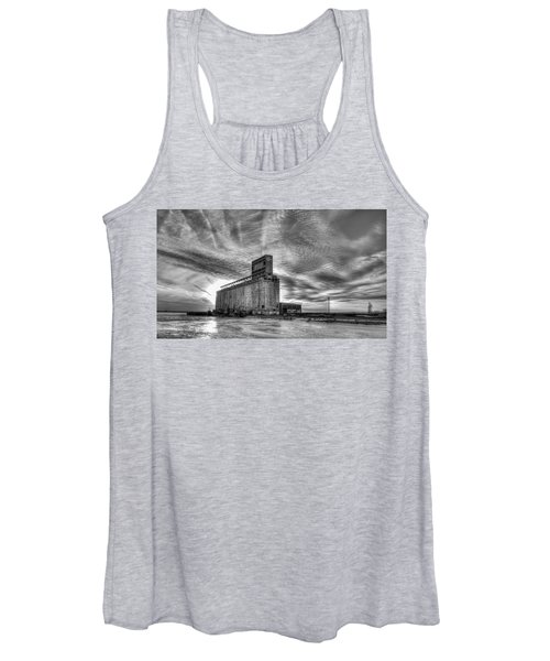 Cargill Sunset In B/w Women's Tank Top