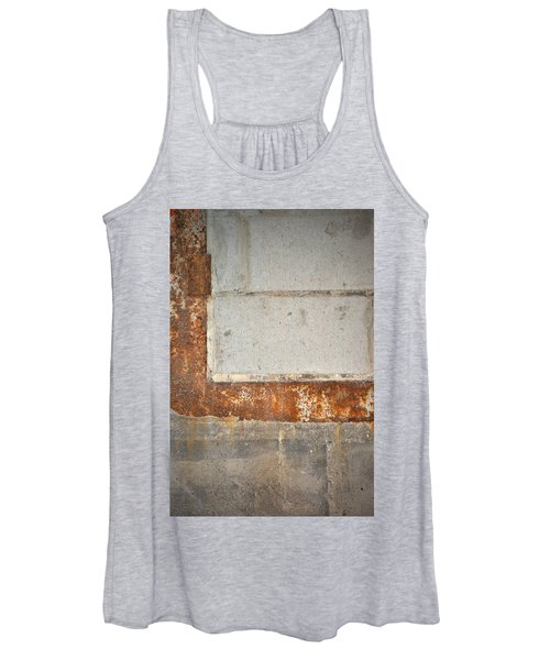 Carlton 14 - Abstract Concrete Wall Women's Tank Top