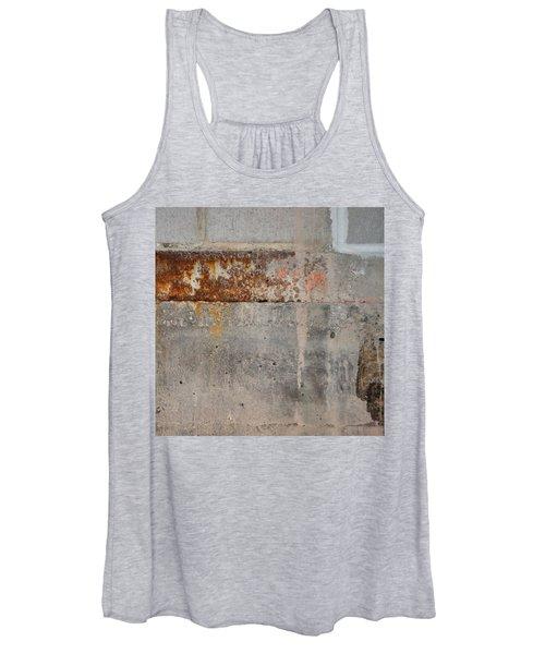 Carlton 16 Concrete Mortar And Rust Women's Tank Top