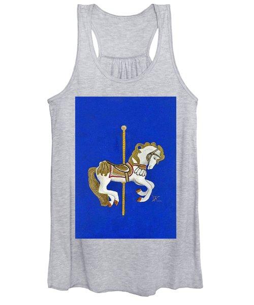 Carousel Horse #3 Women's Tank Top