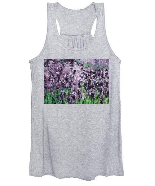 Carpet Of Lavender Women's Tank Top