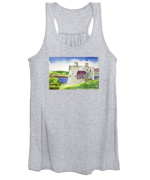 Castle From The Hill Women's Tank Top
