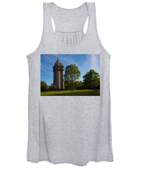 Castle Turret On The Green Women's Tank Top