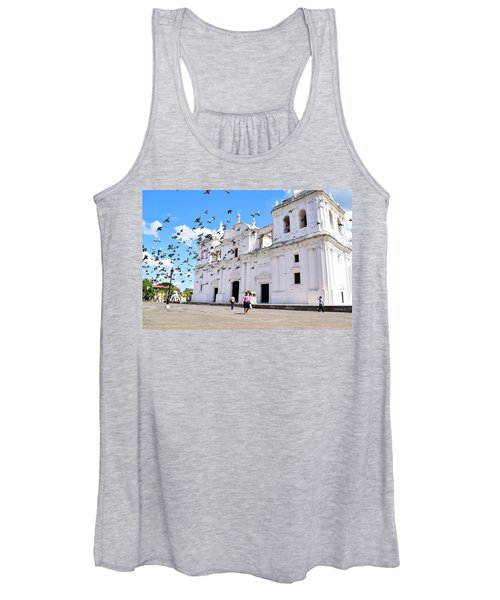 Cathedral Of Leon Women's Tank Top