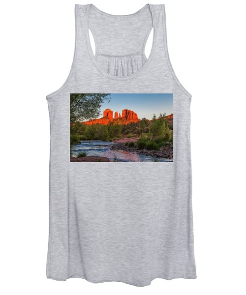 Cathedral Rock At Red Rock Crossing Women's Tank Top