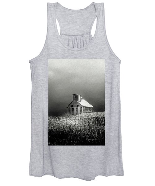 Cattle Feed For The Winter Women's Tank Top