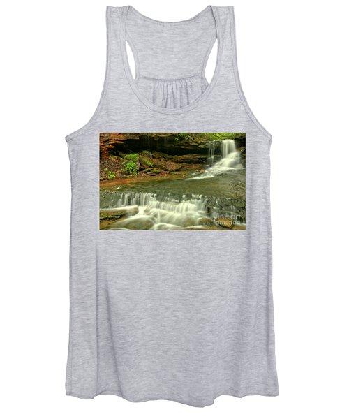 Cave Falls Cascades Women's Tank Top