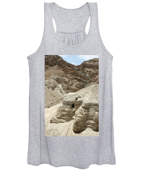 Caves Of The Dead Sea Scrolls Women's Tank Top