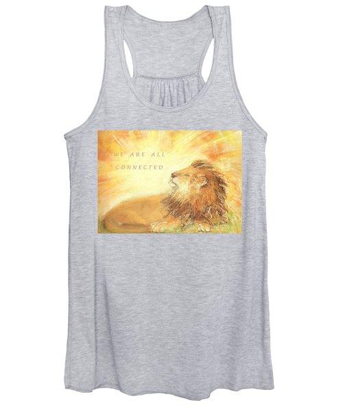 Cecil The Lion Women's Tank Top